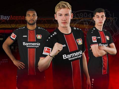 Maglia Bayer 04 Leverkusen 2020 seconda – maglie calcio poco ...